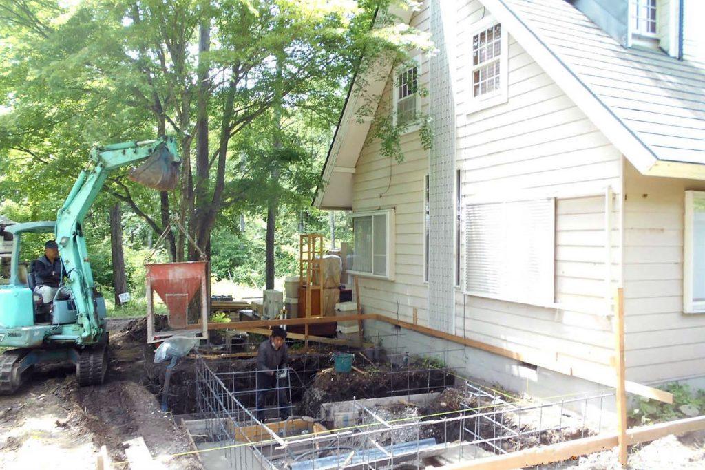 F邸増築工事2